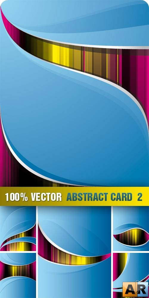 Stock Vector - Abstract Card  2