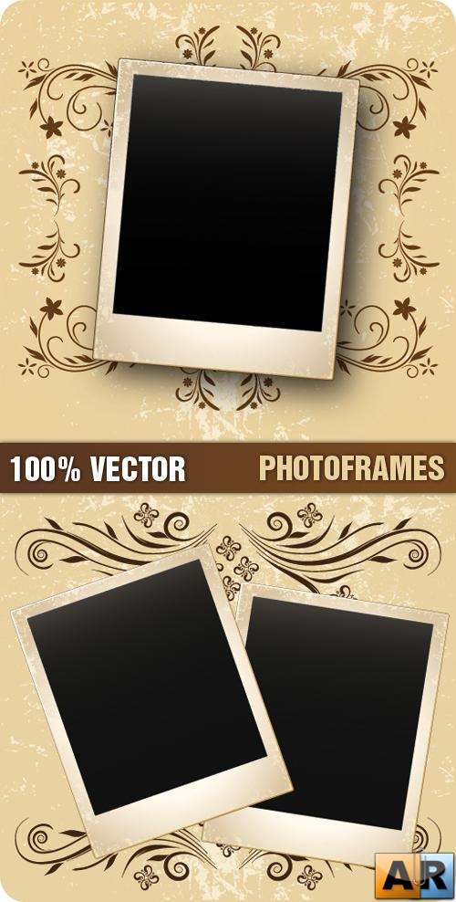 Stock Vector - Photoframes