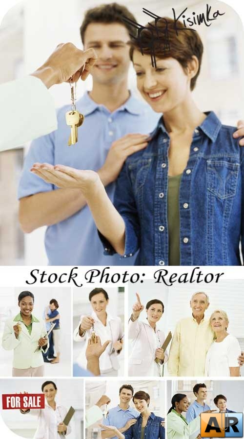 Stock Photo:  Realtor