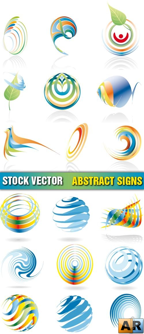 Stock Vector - Abstract Signs