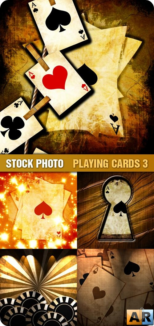 Stock Photo - Playing Cards 3