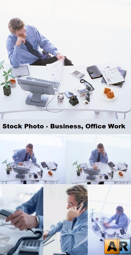 Stock Photo - Business, Office Work
