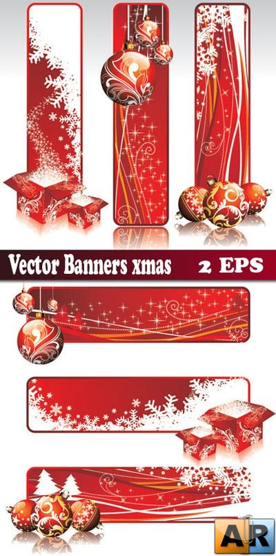 Christmas Banners-Vector