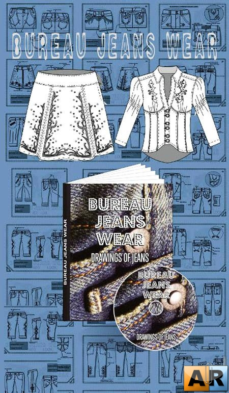 Bureau Jeans Wear - Drawings of Jeans