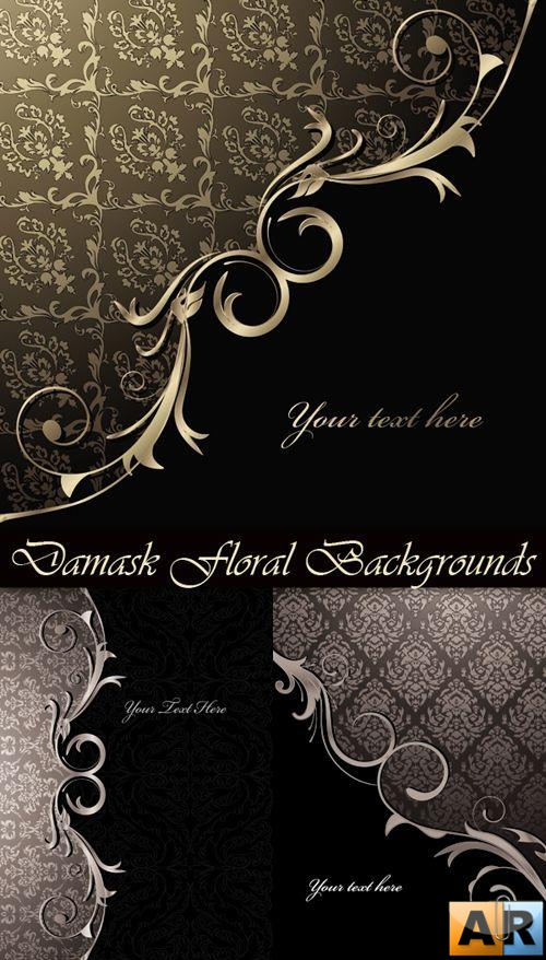 Damask Floral Backgrounds