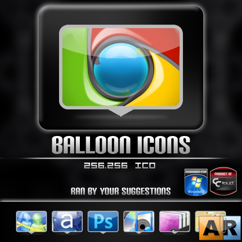 Balloon Icon Pack