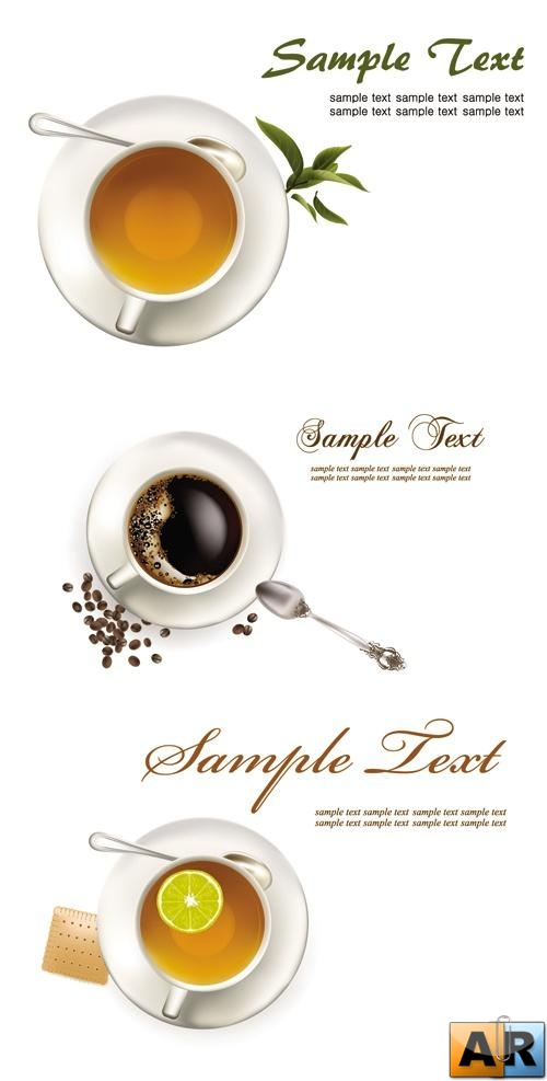 Coffee & Tea Cups Vector
