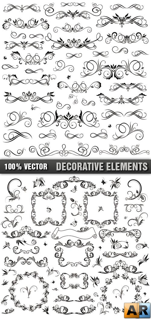 Stock Vector - Decorative Element