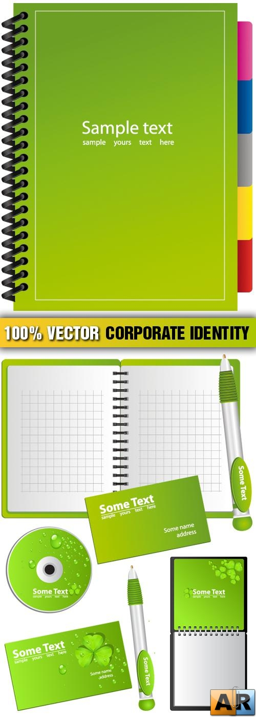 Stock Vector - Corporate Identity