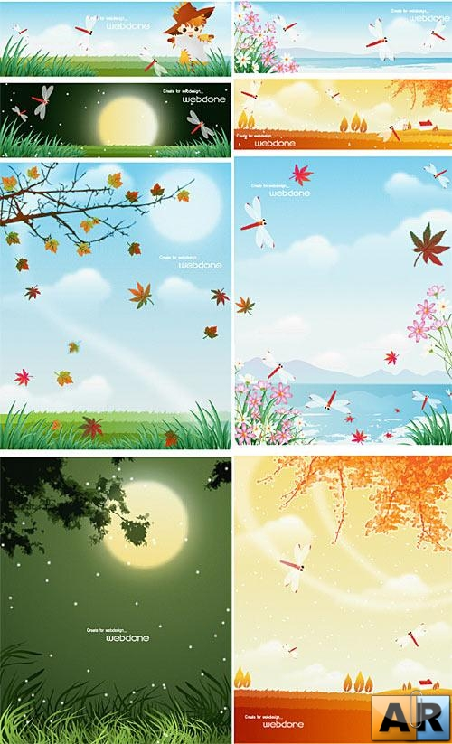 Nature vector design 5