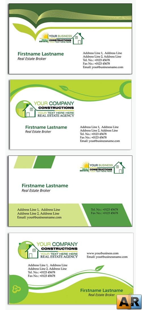 Business Card PSD Templates - Realtor