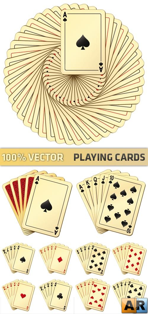 Stock Vector - Playing Cards
