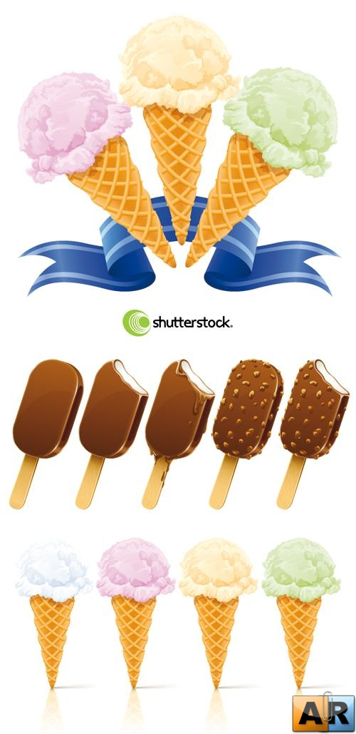Stock Vector - Ice Cream