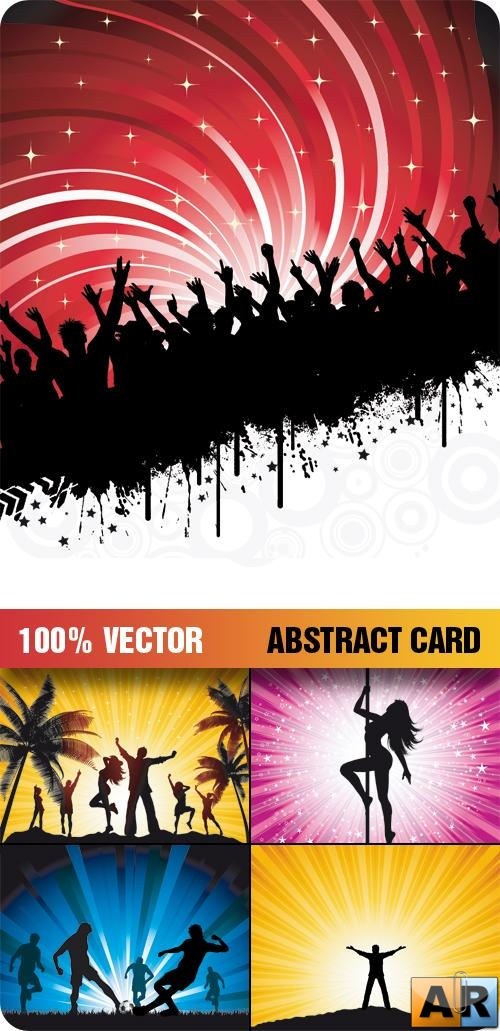 Stock Vector - Abstract Card