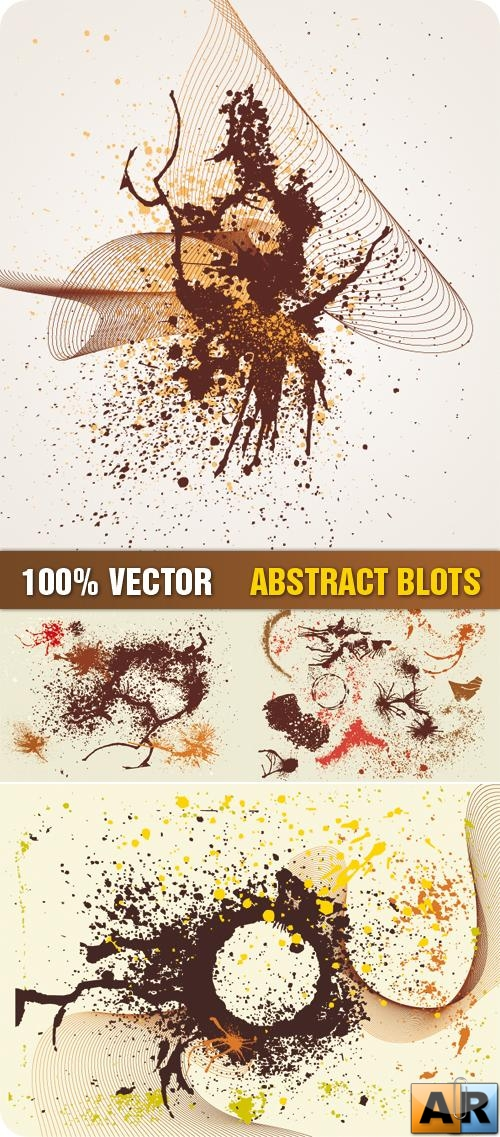Stock Vector - Abstract Blots