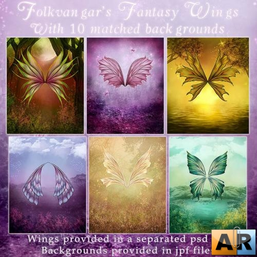 �����-����� ����������� ������ /Fantasy Wings vol 3