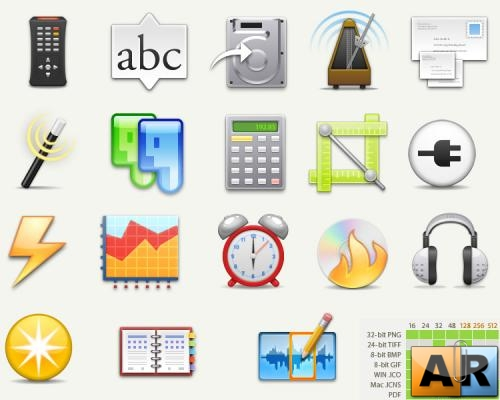 Aquatica Icons pack
