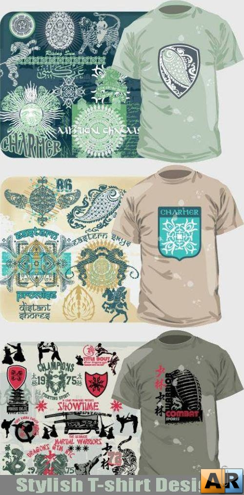 Stylish T-shirt Designs