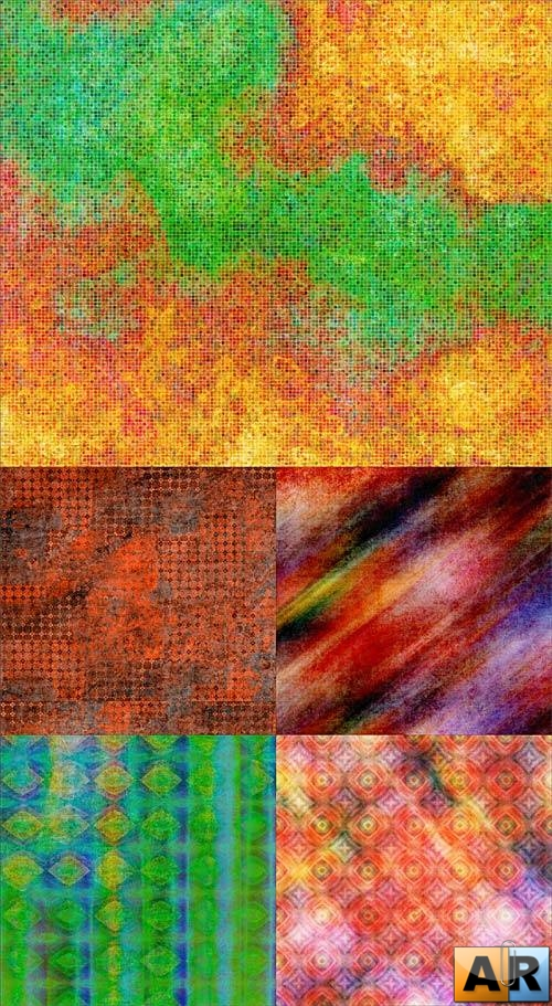 Colored abstract textures
