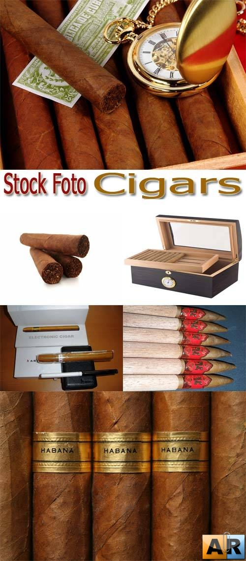 Stock Foto: Cigars