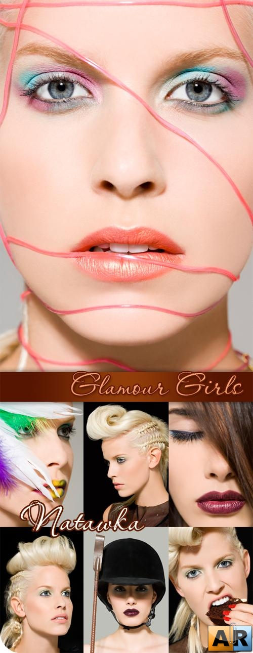Stock Photo - Glamour Girls