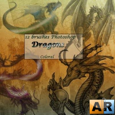 Dragons Brushes