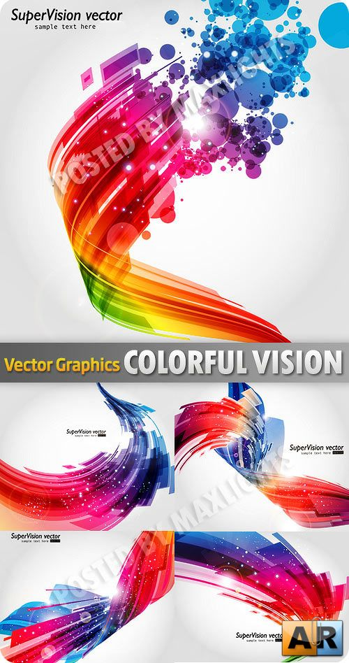 Colorful Vision backgrounds