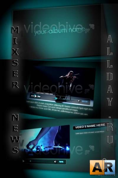 VideoHive - Players Album