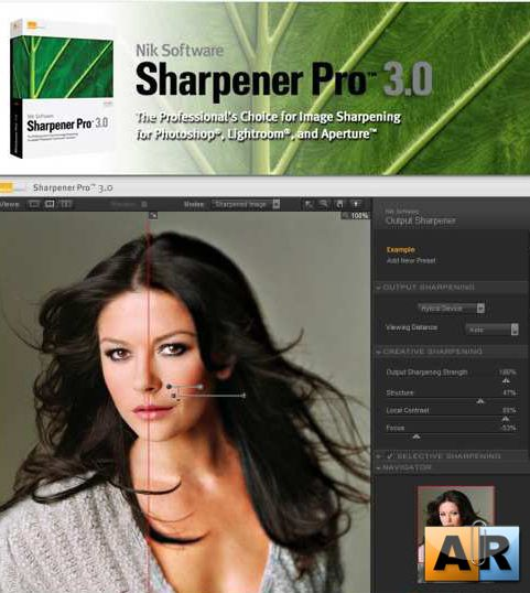 Nik Software Sharpener Pro 3.005 for Adobe Photoshop