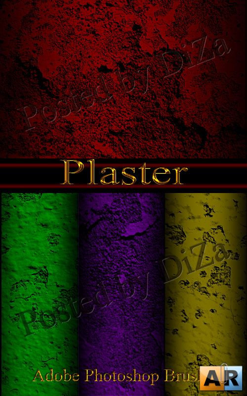 Plaster-Adobe Photoshop Brush