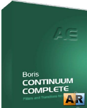 Boris Continuum Complete 6 AE for adobe CS3, CS4
