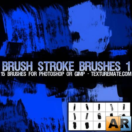 Brush Strokes 1 Brush Pack