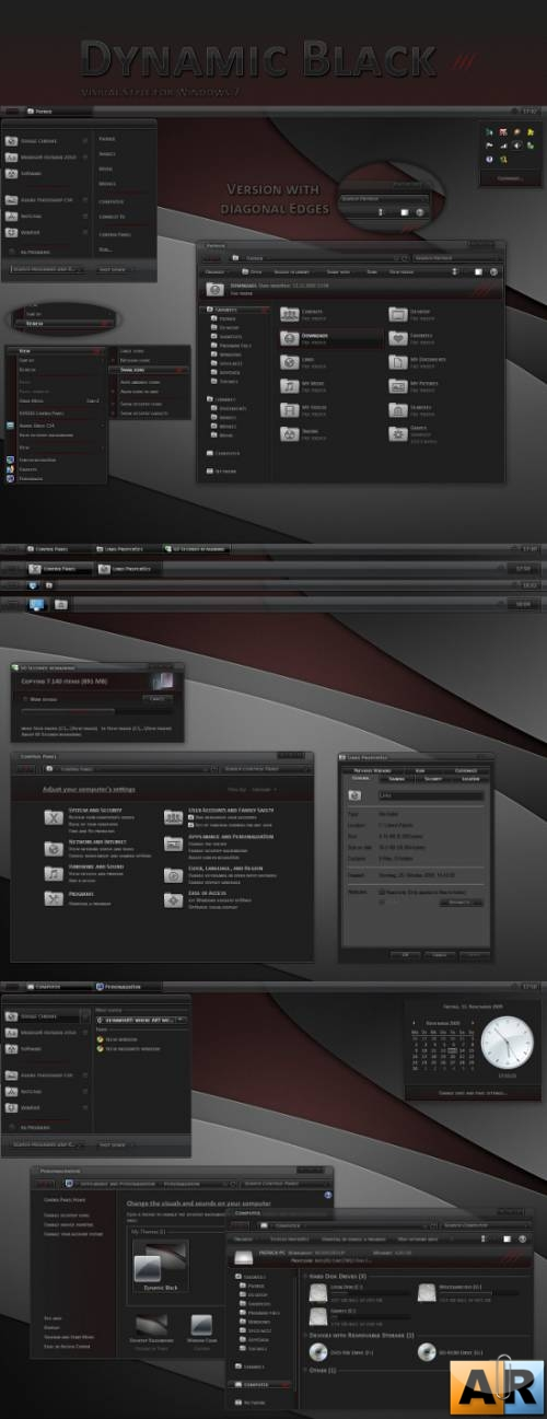 Dynamic Black for Windows 7