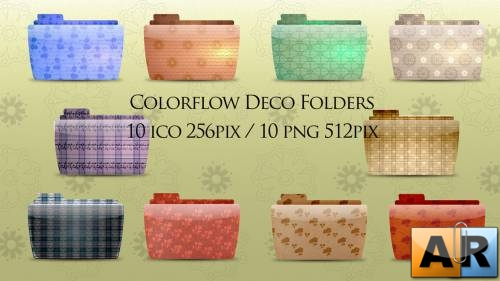 Colorflow Deco Folder icons