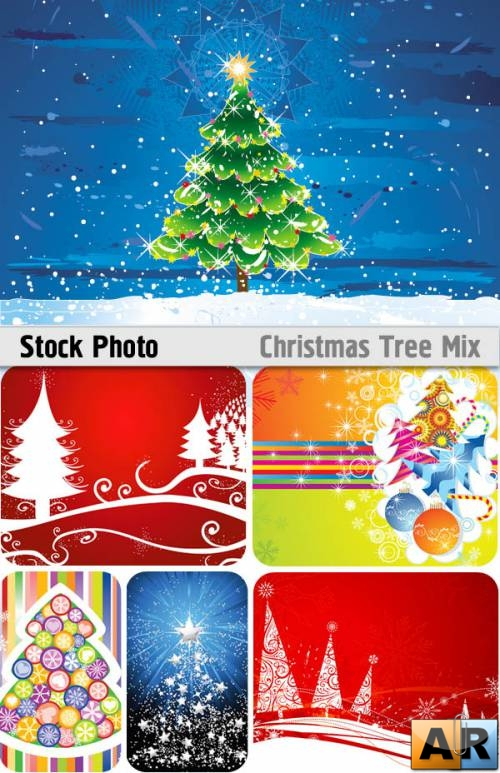 Stock Vectors - Chrismas Tree Mix