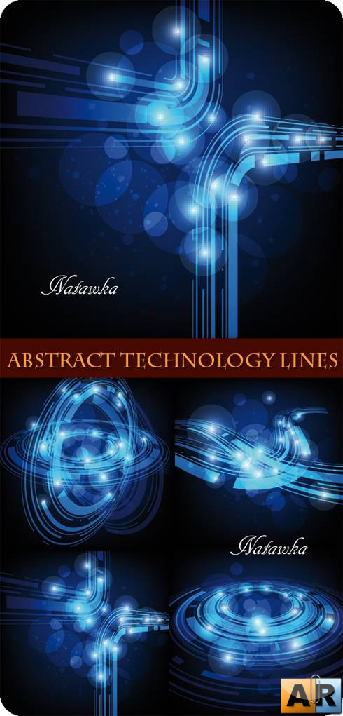 ����� ��������� ����. Abstract Technology Lines