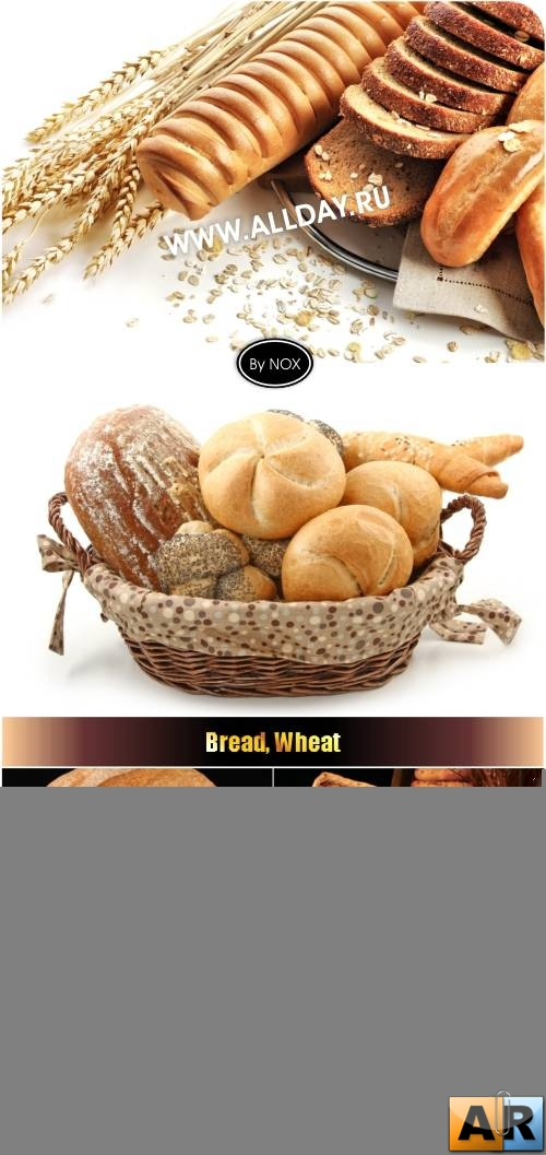 Bread, Wheat - Хлеб, пшеница, выпечка