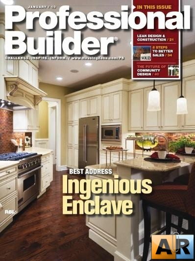 Professional Builder Magazine January 2010