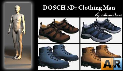 DOSCH 3D: Clothing Man by Asmodeus