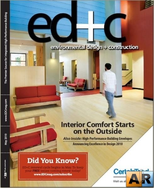 Environmental Design + Construction Magazine May 2010