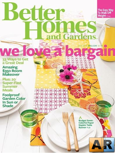 Better Homes & Gardens Magazine July 2010