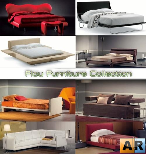 3D models of Flou Furniture