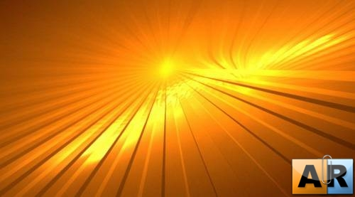 Yellow orange motion background
