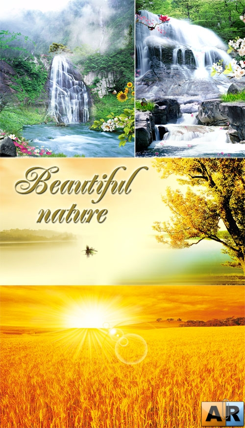 PSD templates - Nature 8
