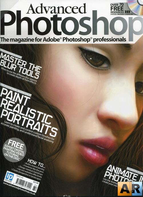 Advanced Photoshop Magazine issue 64 (+ CD)