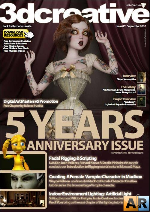 3DCreative No.061 - September 2010