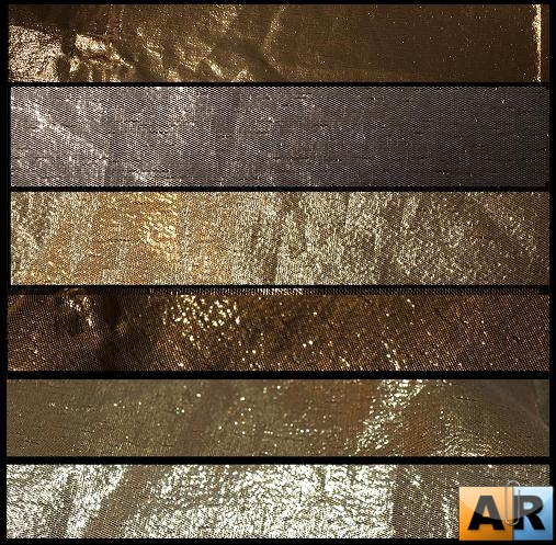 Текстуры для Photoshop - Metallic Gold Textures