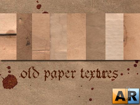 Текстуры для Photoshop - Old Paper Textures