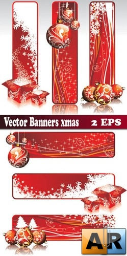 Vector banners items