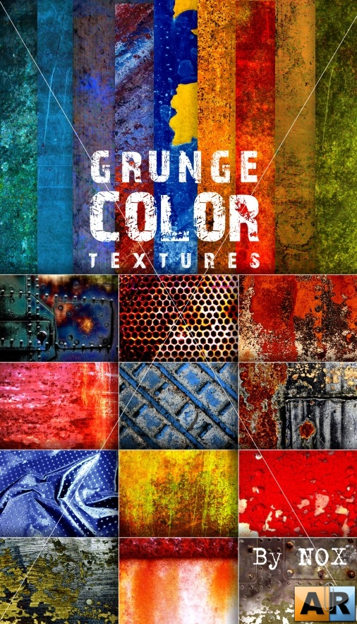 Grunge Color Textures IV